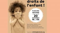 Venez fêter les droits de l'enfant !